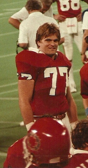 Todd Thomas i New Jersey Generals matchställ. Photo: WI Connection - Eget arbete, CC BY-SA 3.0, https://commons.wikimedia.org/w/index.php?curid=17948189