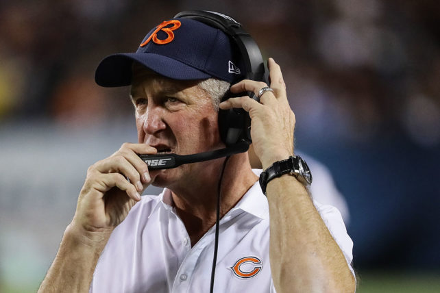 Coach John Fox har många problem. Foto: Jonathan Daniel/Getty Images Sport