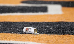 during the AFC Wild Card Playoff game at Paul Brown Stadium on January 9, 2016 in Cincinnati, Ohio.