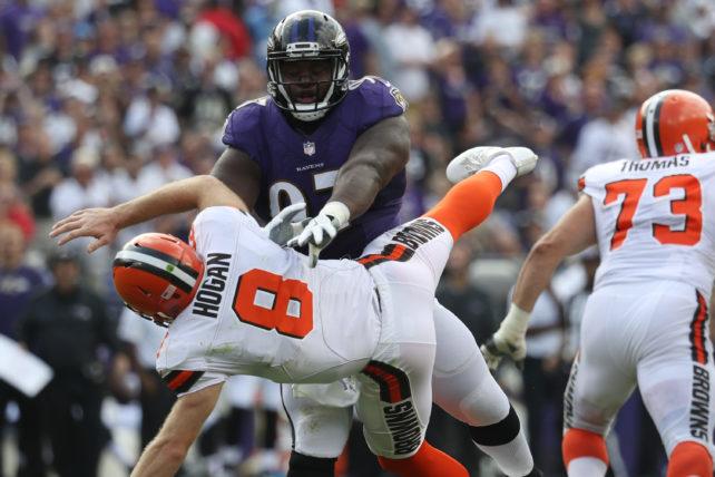 Kevin Hogan, quarterback för Cleveland Browns.