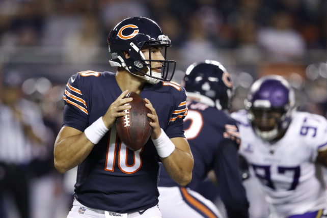 Mitchell Trubisky, rookie-quarterback i Chicago Bears.