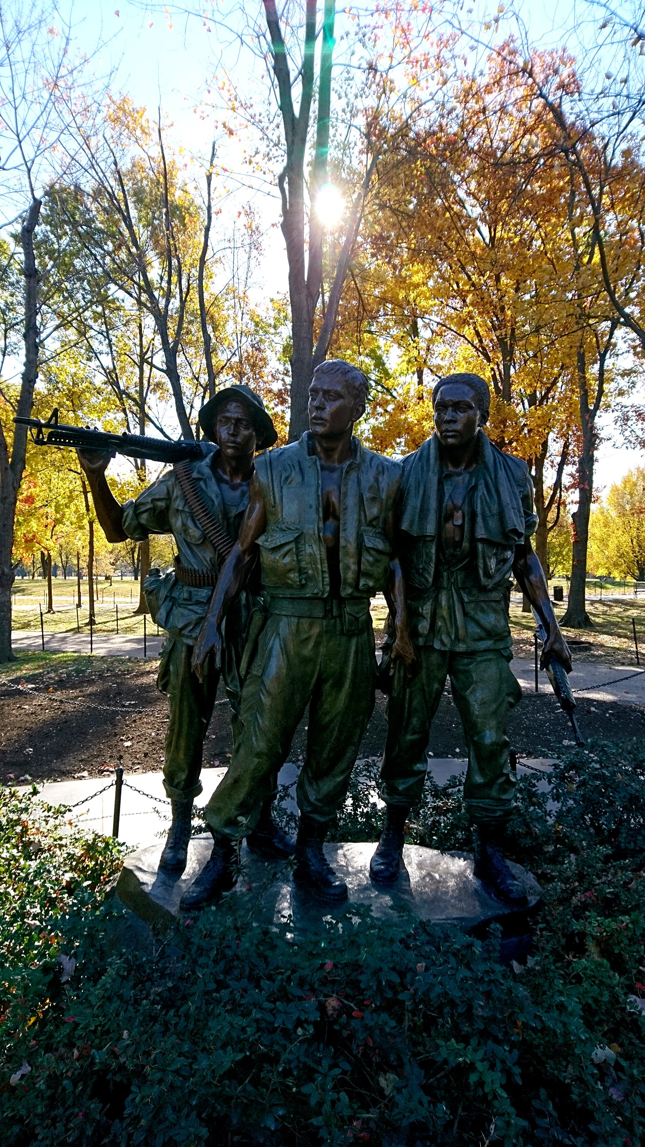 The Three Servicemen. Foto: John Andersson.