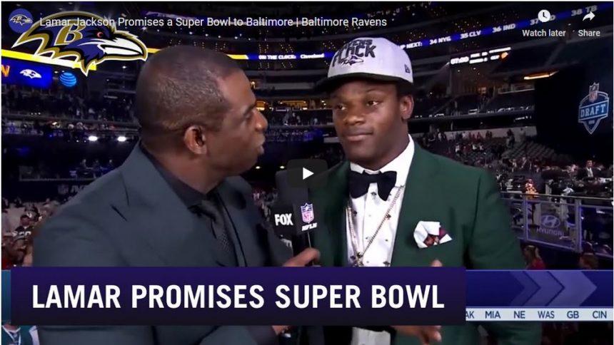 Lamar Jackson lovar Super Bowl till Ravens